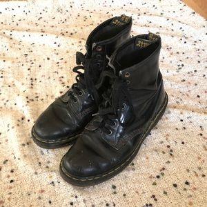 Vintage UK Doc Martens Leather Combat Boots